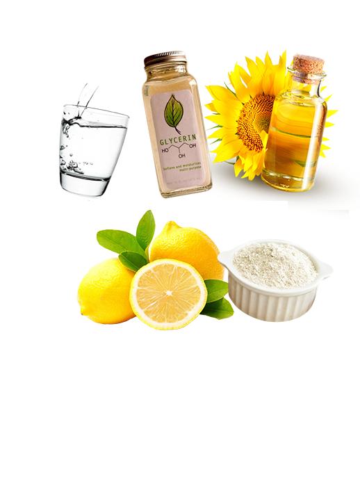 ингредиенты Питательная маска для рук из овсянки и глицерина
