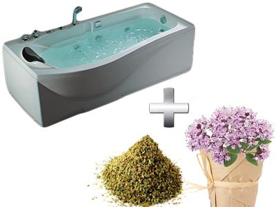 ванна с душицей