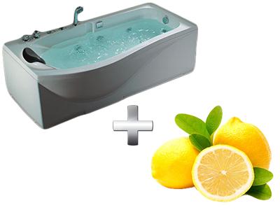 бодрящая ванна с лимоном