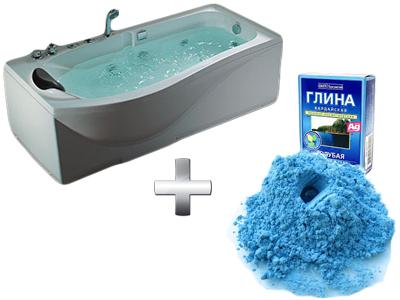 омолаживающая ванна с глиной