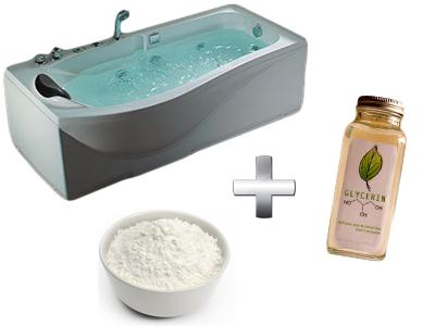 омолаживающая ванна с глицерином
