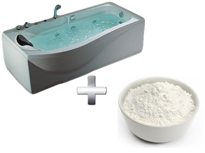 омолаживающая ванна с крахмалом