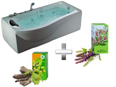 очищающая ванна с корой дуба