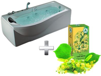 расслабляющая липовая ванна