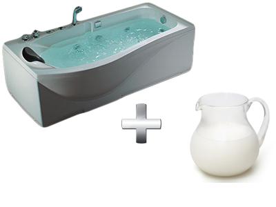 увлажняющая ванна со сливками